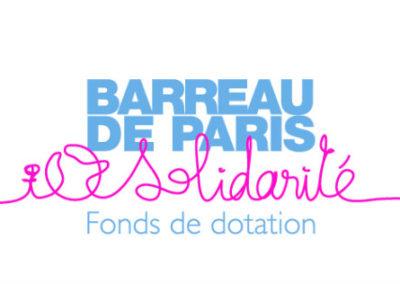 Fonds de dotation du Barreau de Paris - Solidarité